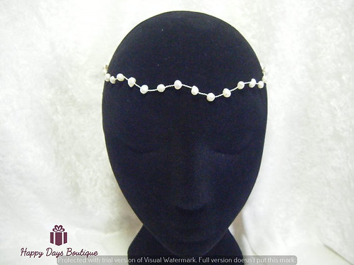 Freshwater Pearl Browband or Headband