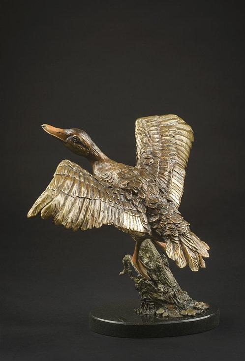 Sculpture de Andrée Marcoux-art animalier québec