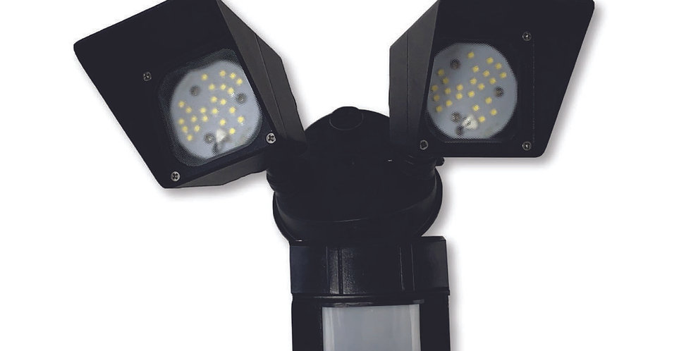 Outdoor Light with Motion Sensor 20W 5000K Black