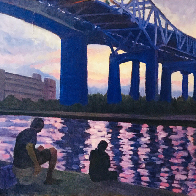 "Helen Hendry ""Skyway at Twilight"""