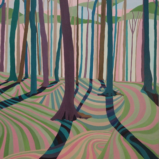 Third prize - Peace in the Woods, Dundas Valley - Jodi Kitto-Ward
