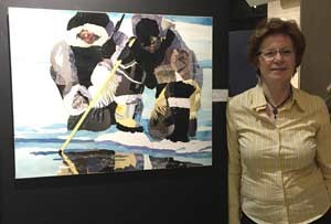 OSA 2017 Members' Exhibition of Selected Works exhibition at Joseph D. Carrier Gallery, Toronto, ON.