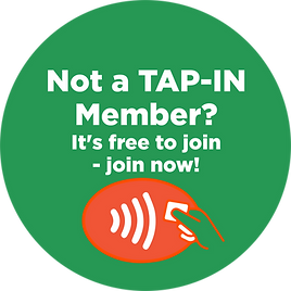 Tap-in member free to join