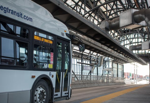 WINNIPEG TRANSIT BUS GARAGE