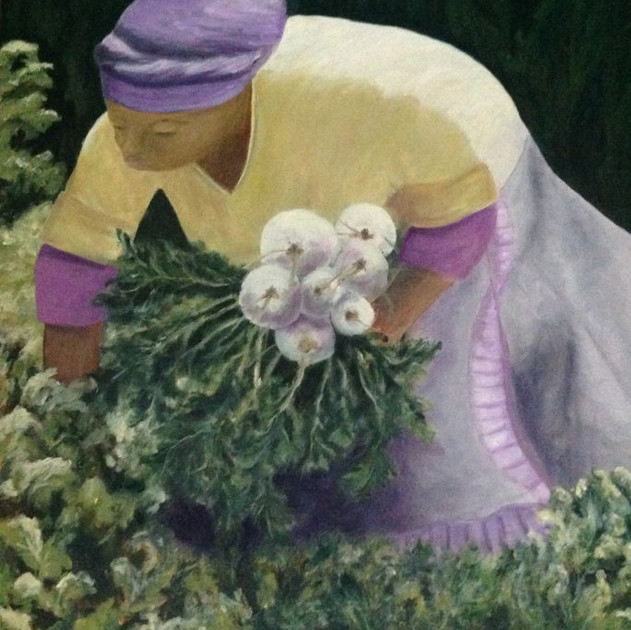 1st Prize: Sheryl Pearson - The Harvest