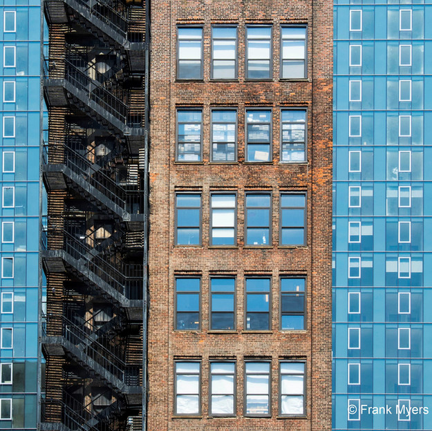"Frank Myers ""NYC Architecture #3"""