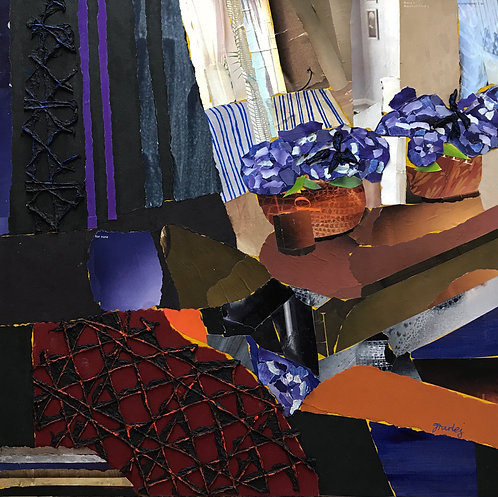 Afternoon Delight paper collage