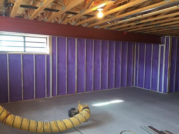 Spray Foam Basement walls.jpeg