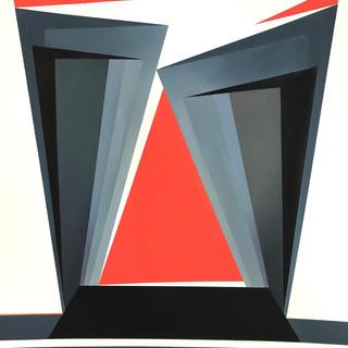 Second prize - Red Triangle - Vera Bobson