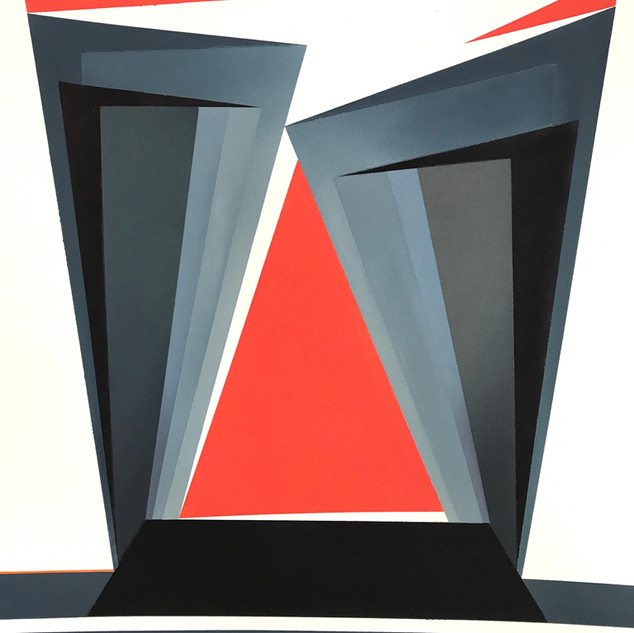 Second prize - Red Triangle - Vera Bobson