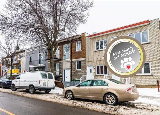 608 des Ormeaux, Montréal  Triplex   Mes clients ont ACHETÉ!