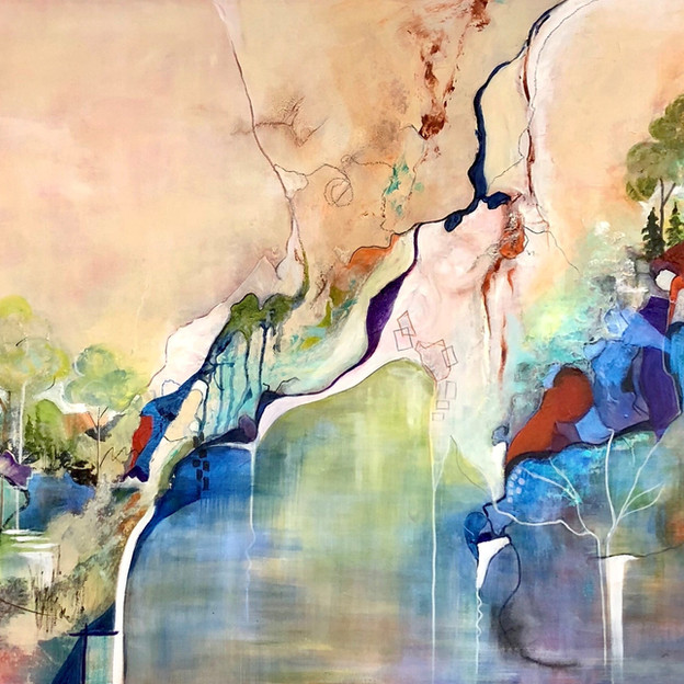 "Priti Girgla ""And a River Runs Through"""