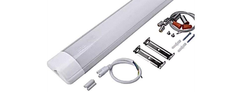 "LED Batten Light Linkable 4' 3"" 40W 5000K"