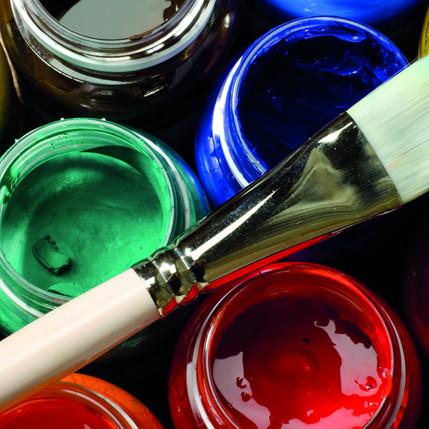 Cours de peinture avec Brigitte Caillé