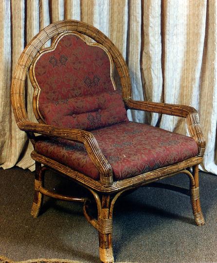 cadeira de junco
