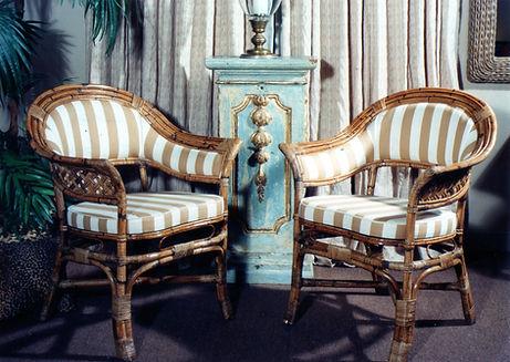Cadeiras de junco
