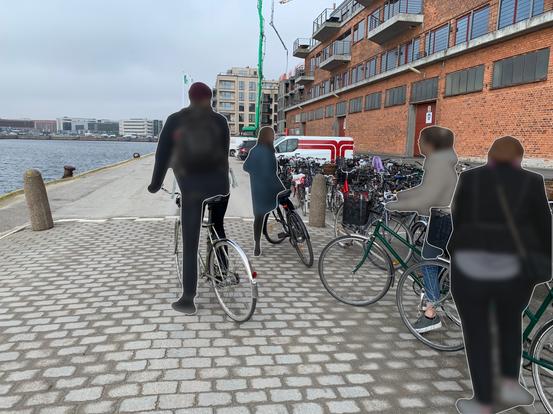Guided bike-tour in Copenhagen