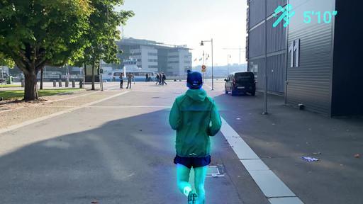 virtual pace runner.