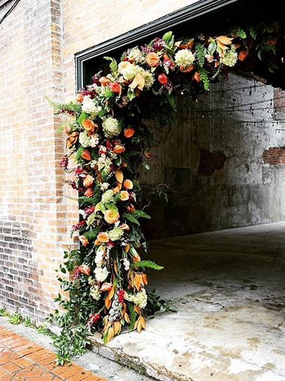 Beflowered doorway by _fatcatflowers at
