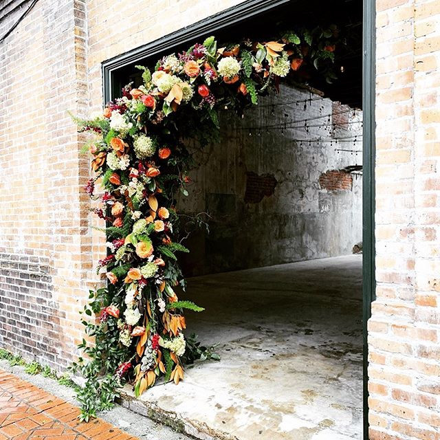 Beflowered doorway by _fatcatflowers at