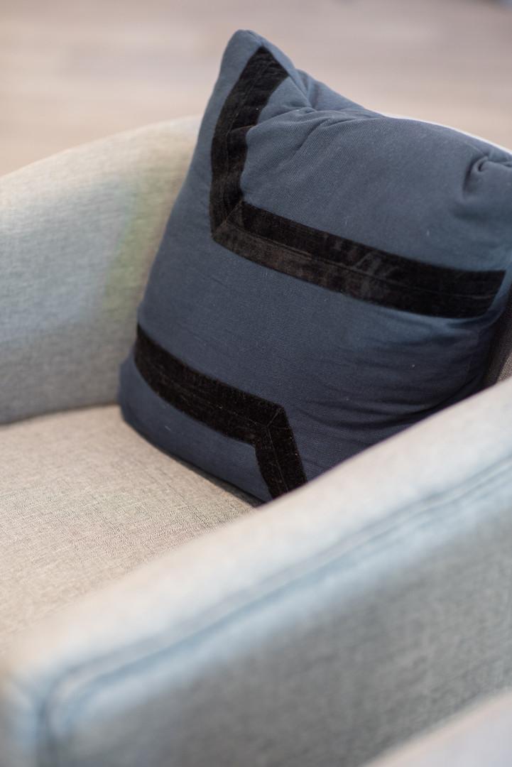 Living Room Chair & Cushion