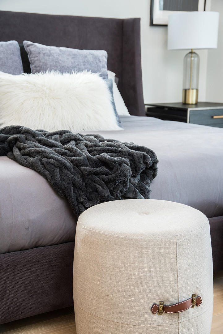 Master Bedroom Poufs