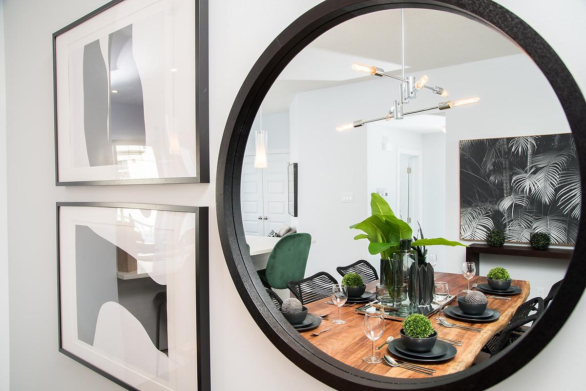 Dining Room Mirror & Wall Art