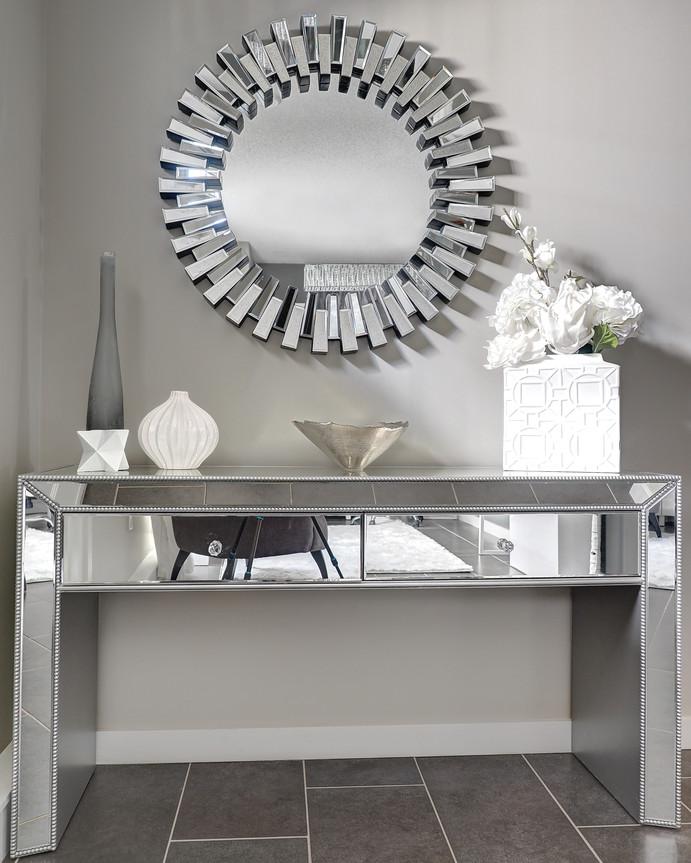Foyer Table & Mirror
