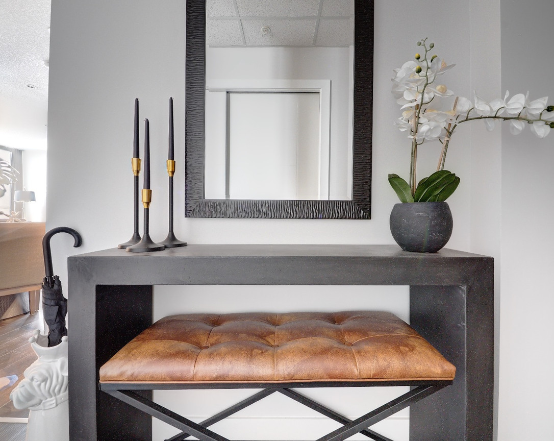 Foyer Table & Bench