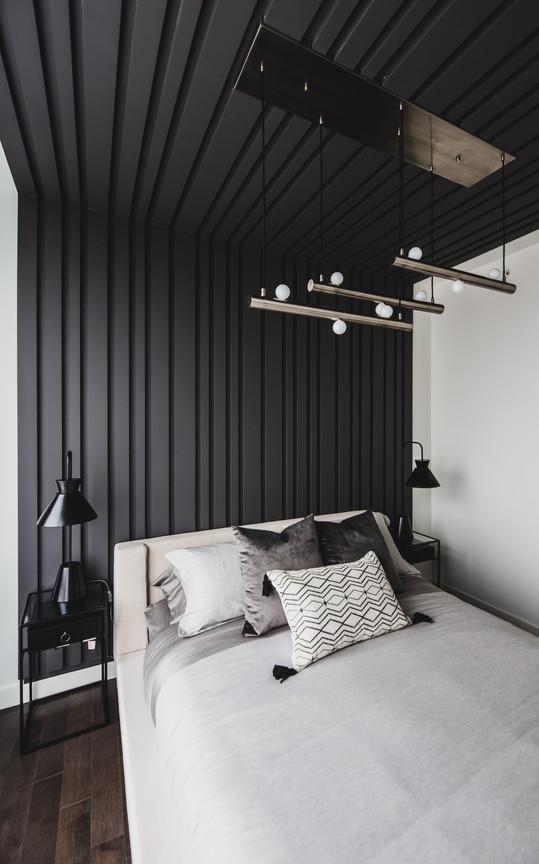 Master Bedroom Bespoke Ceiling Panelling