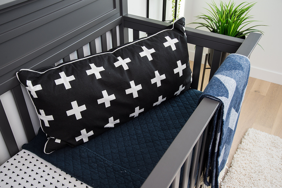 Nursery Crib & Soft Furnishings
