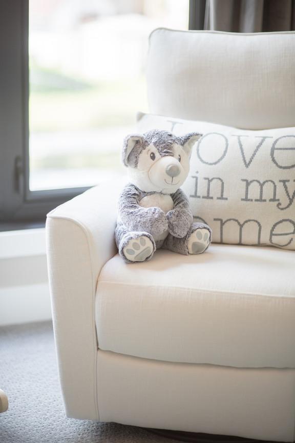 Nursery Chair & Cushion
