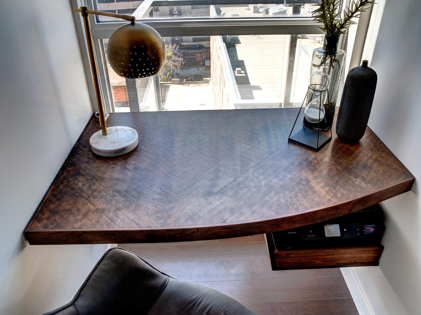 Custom Bespoke Window Office Desk