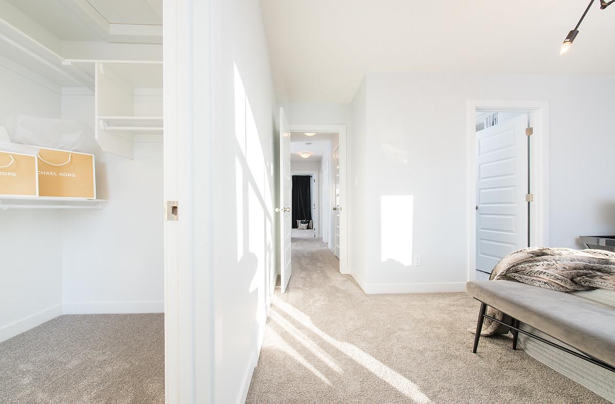 Master Bedroom & Walk-In Closet