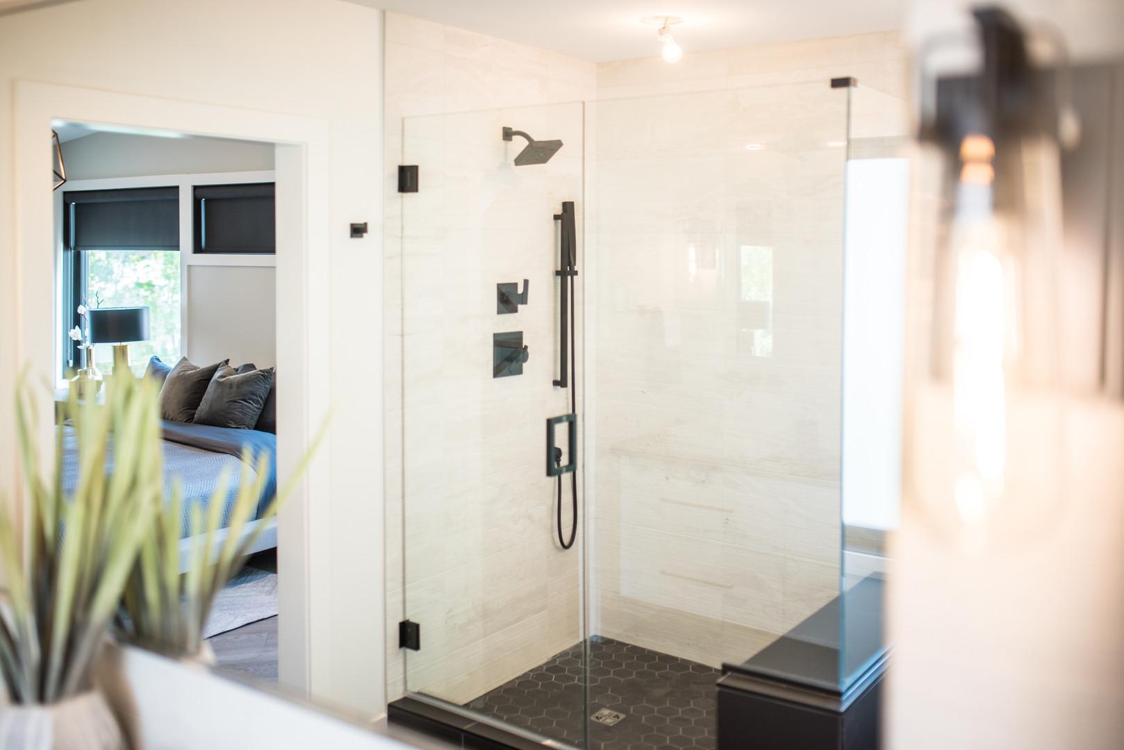 Ensuite Shower Stall