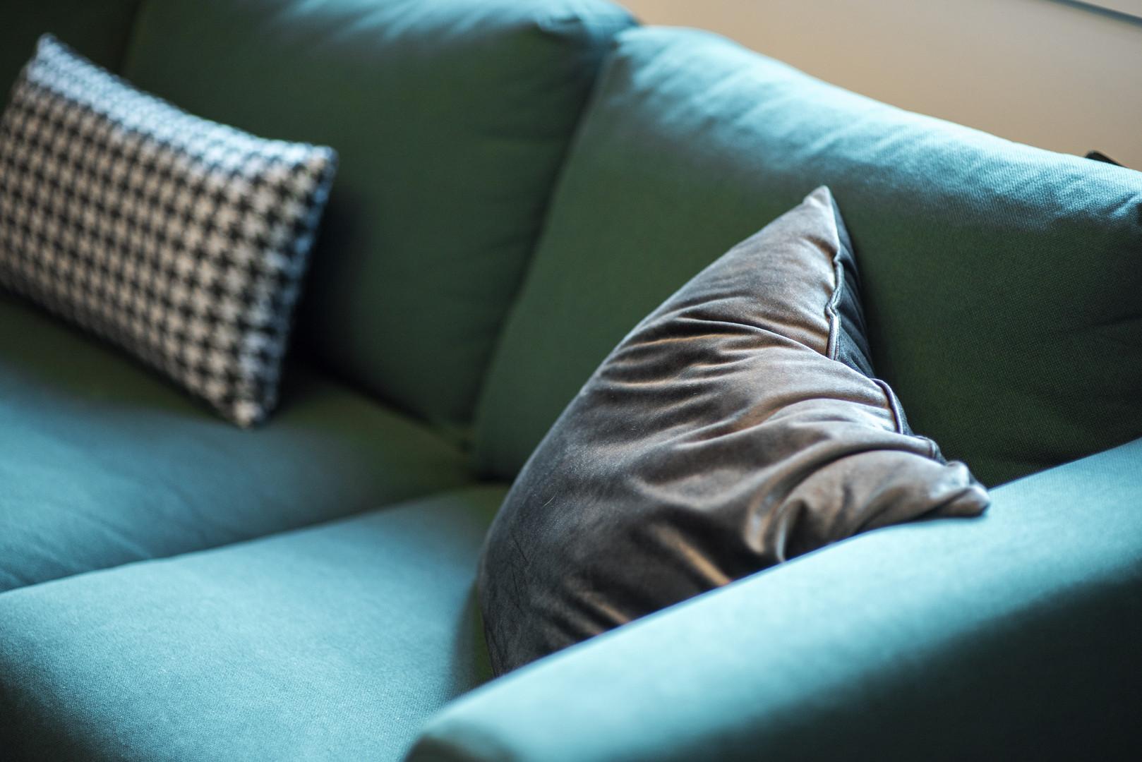 His Office Sofa & Cushions