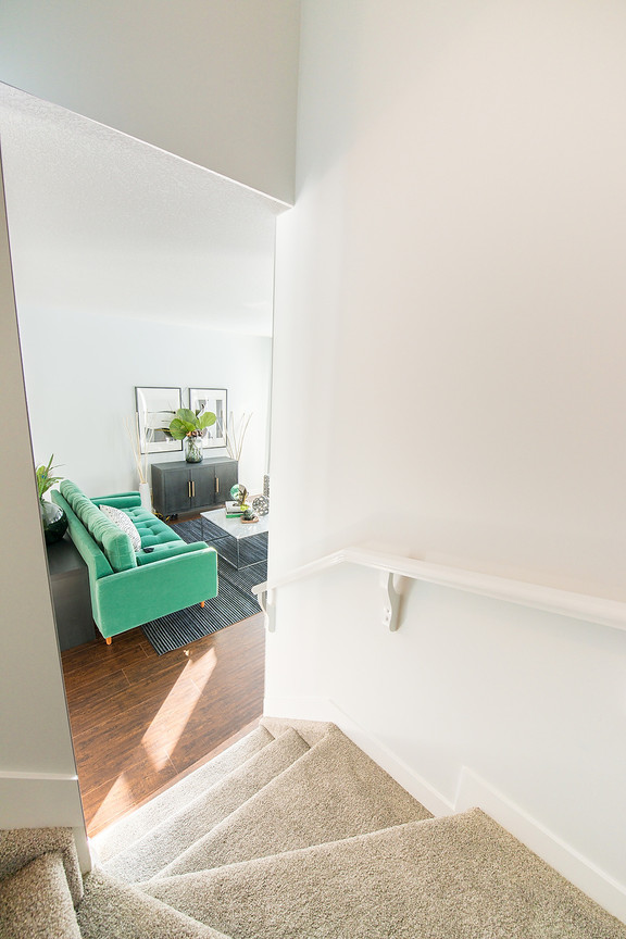 Stairway to Living Room