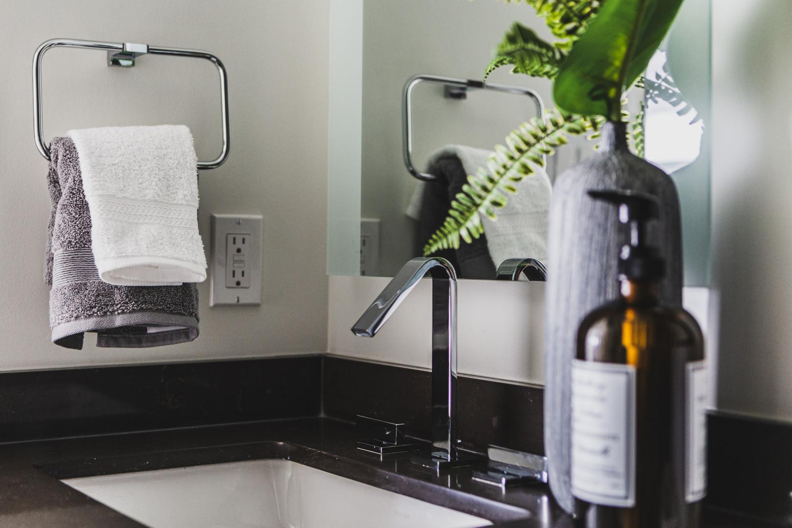 Bathroom Sink & Tap