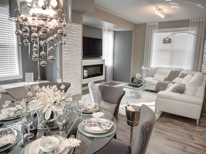 Dining Room & Living Room