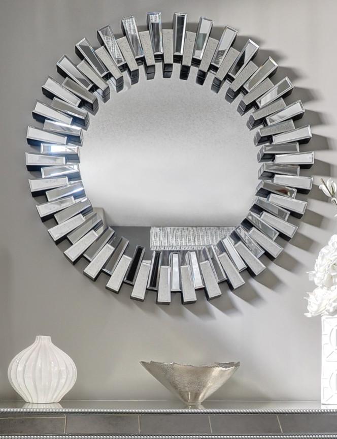 Entry Mirror & Decor