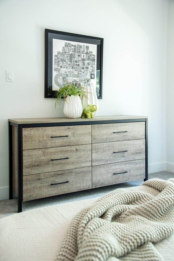 Guest Bedroom Dresser & Decor