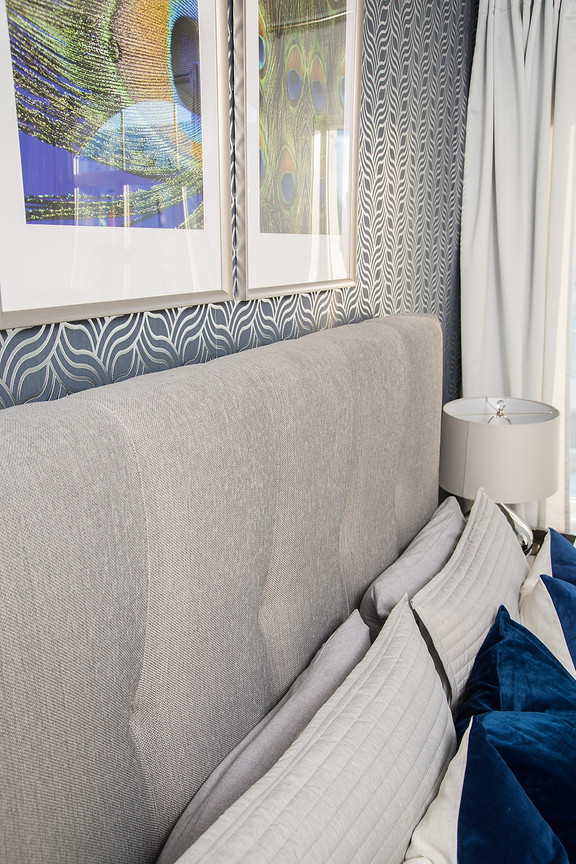 Master Bed Quilted Headboard
