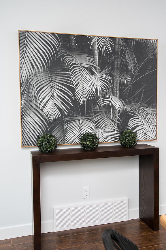 Hall Table & Wall Art