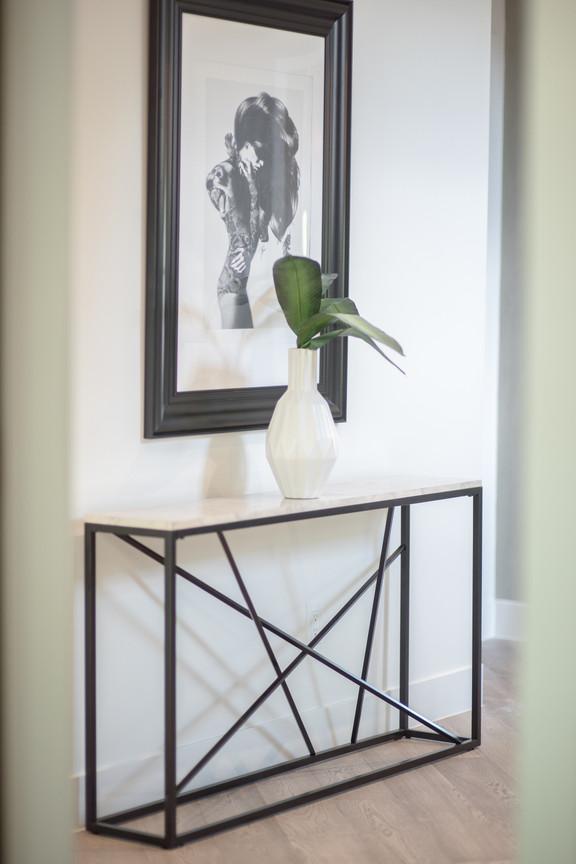 Hall Artwork & Table