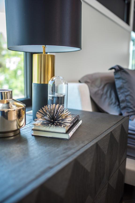 Master Bedroom Night Table & Decor