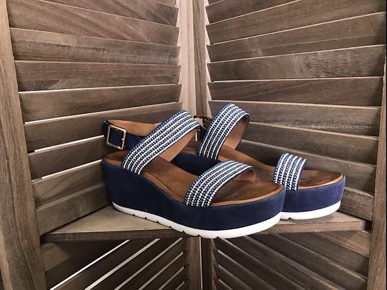 Sandales marine 38