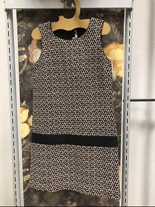 Robe noire  beige T 36 cop.copine