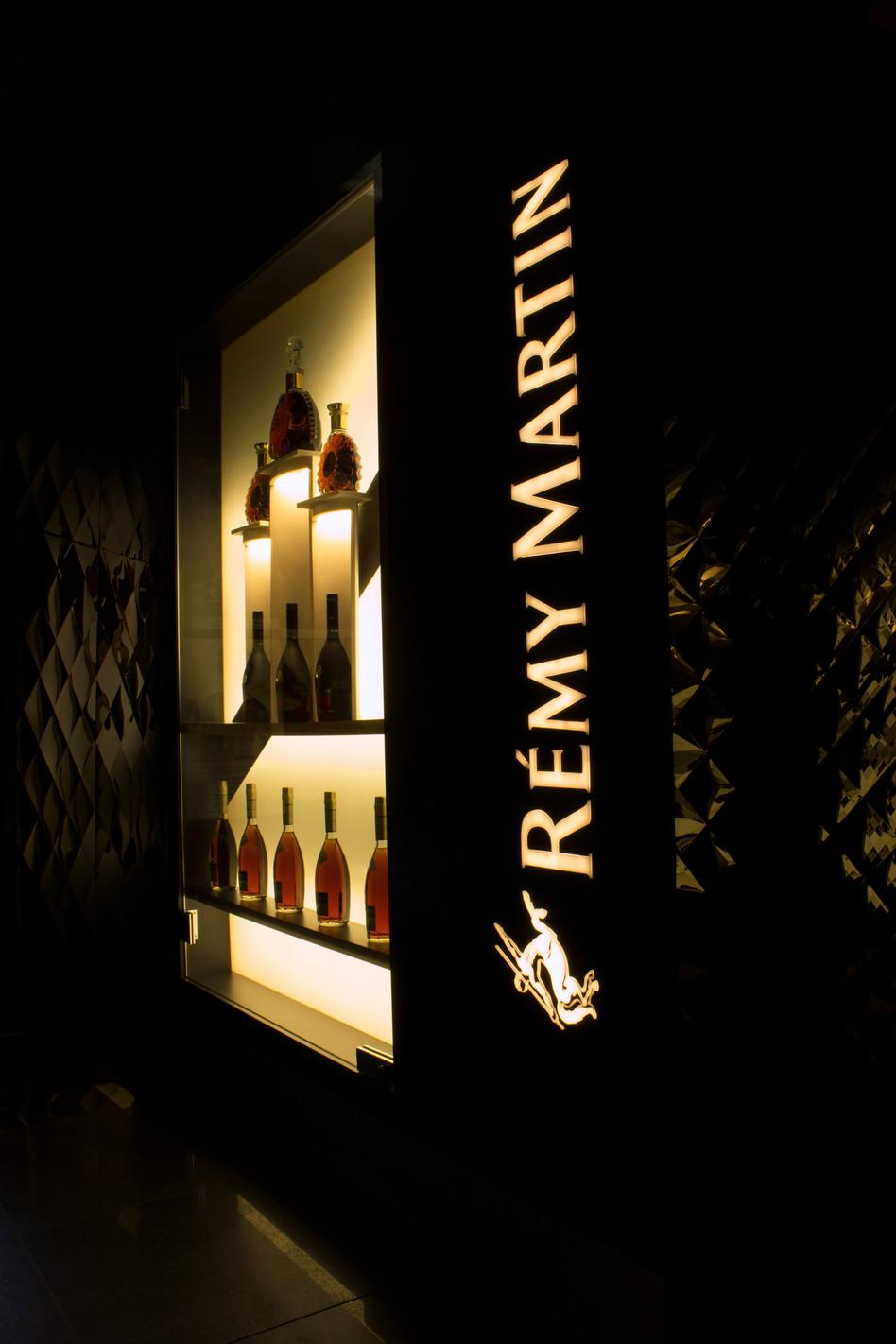 Custom made RÉMY MARTIN cabinet