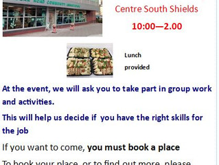 Job opportunity for people with learning disabilities from South Tyneside