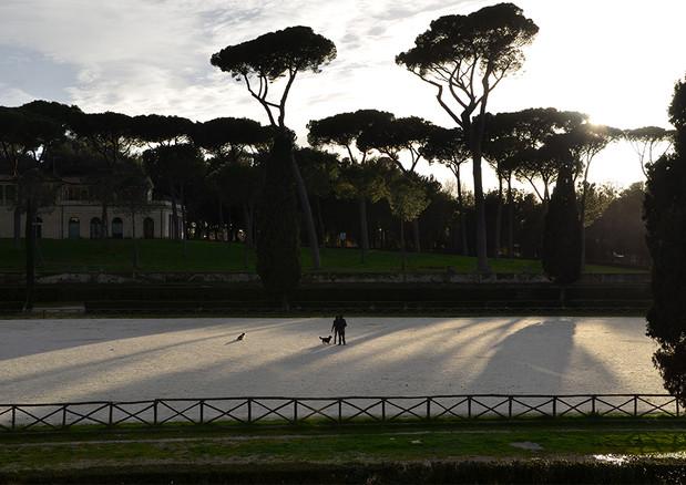 Museo e Galleria Borghese park, Rome. 2014